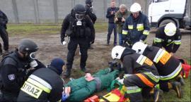 Ćwiczenia służb mundurowych w ZK w Łowiczu i jego sąsiedztwie [Dużo zdjęć]