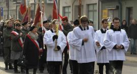 Procesja z relikwiami patronki Łowicza - św. Wiktorii