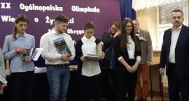 Uczennica z Blichu najlepsza w etapie okręgowym OWoŻ