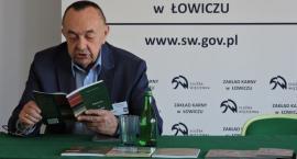 Zbigniew Kostrzewa z wizytą w ZK w Łowiczu