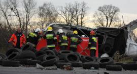Tragiczny wypadek pod Łowiczem. Nie żyje jedna osoba