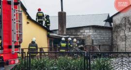 Dwa pożary w gminie Domaniewice. Z dymem poszło 40 tys. złotych