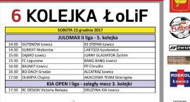 6. kolejka ŁoLiF: rozkład jazdy