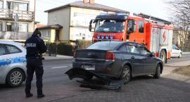Zdarzenia drogowe na A2 i w Łowiczu