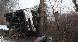 Wypadek w Arkadii. Jedna osoba ranna