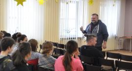 Warsztaty profilaktyczne w ZSCKR w Zduńskiej Dąbrowie