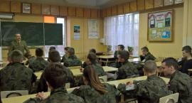 Szkolenia wojskowe dla klasy mundurowej z ZSP nr 1 w Łowiczu