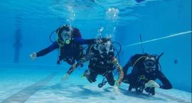 Płetwonurkowie z OSP RW nurkowali z niepełnosprawnymi