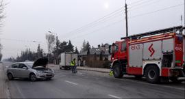 Wypadek na Jana Pawła II. Do szpitali trafili 36-letnia kobieta i 2-letnie dziecko