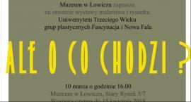 Wystawa prac kursantów Uniwersytetu III Wieku