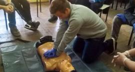 Kurs pierwszej pomocy przedmedycznej w ZSP nr 1 w Łowiczu