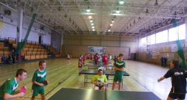 Turniej tenisa stołowego gimnazjalistów