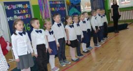 Pasowanie na ucznia w Szkole Podstawowej w Popowie