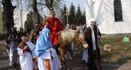 Procesja Niedzieli Palmowej w parafii św. Ducha
