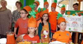 Marchewkowe przekąski w szkole w Popowie