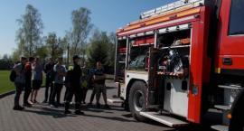Wizyta młodzieży ZSP nr 1 w Komendzie Powiatowej Państwowej Straży Pożarnej w Łowiczu