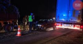 Dwa zdarzenia na A2 i wypadek na DW 703