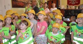 Najmłodsi mieszkańcy miasta z wizytą w ratuszu