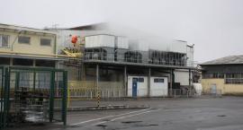 Strażacy ćwiczyli na terenie zakładu Agros Nova