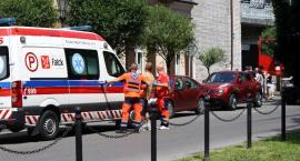Pożar w budynku komunalnym w Łowiczu. Ranny mężczyzna