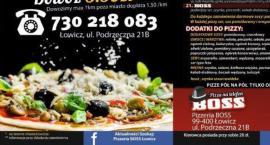 Wygraj vouchery do Pizzerii BOSS w Łowiczu - KONKURS