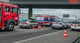 Łowickie: wypadek z udziałem 4 aut na A2, 3 pojazdy zderzyły się na DK 70