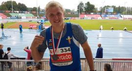 Cyprian Mrzygłód z medalem mistrzostw Polski