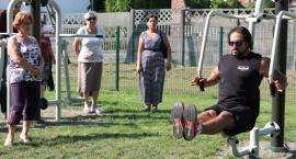 Otwarcie siłowni plenerowej i placu zabaw przy Konopackiego (ZDJĘCIA)