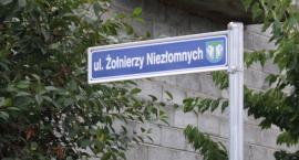 Ulica Żołnierzy Niezłomnych pozostaje na Górkach