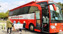 Trwa zbiórka krwi pod Intermarché w Łowiczu