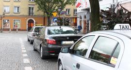 Zuchwała kradzież taksówki na Starym Rynku w Łowiczu