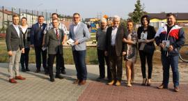 Kandydat na burmistrza Łowicza ze swoim sztabem na Górkach (ZDJĘCIA)