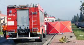 Tragiczny wypadek w Łowiczu. Nie żyją dwie osoby