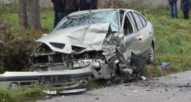 Dwie osoby ranne w wypadku drogowym pod Łowiczem