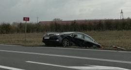 Dwa auta zderzyły się w Kompinie