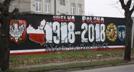 Patriotyczne graffiti w Łowiczu (ZDJĘCIA)