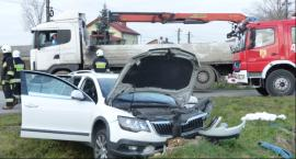 Groźny wypadek w okolicach Zakulina