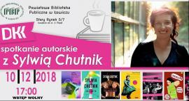 Spotkanie autorskie z Sylwią Chutnik