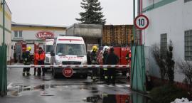 Ewakuacja w zakładzie Bracia Urbanek w Łowiczu. Do szpitali trafiło ponad 20 osób