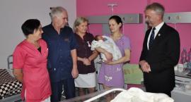 Krzyś pierwszym dzieckiem urodzonym w Łowiczu w 2019 roku