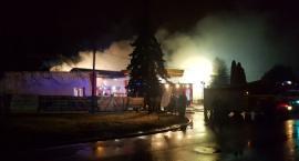 Łowicz: Potężny pożar budynku magazynowego!! (ZDJĘCIA, VIDEO)