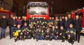 Druhowie z OSP w Łowiczu mają nowy wóz strażacki