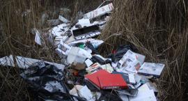 Sterta firmowych śmieci na łowickiej Korabce. Z przedsiębiorstwem nie ma kontaktu