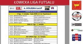 Łowicka Liga Futsalu: plan internetowej transmisji