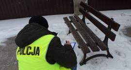 Kradzież ławki na Starym Rynku w Łowiczu. 60-latek usłyszał zarzut