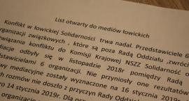 """Związkowcy """"Solidarności"""" wystosowali list otwarty do łowickich mediów"""