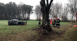 Tragiczny wypadek w okolicach Chąśna. Nie żyje 28-letni mężczyzna