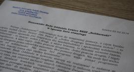 """Stanowisko Rady Oddziału Łowicz NSZZ """"Solidarność"""" w sprawie listu otwartego"""