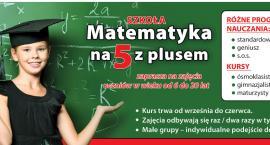 Matematyka dla dzieci w Łowiczu w Szkole Matematyka na 5 z plusem