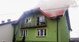 Pożar budynku mieszkalnego w Stachlewie